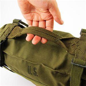 アメリカ軍放出 M1945 帆布キャンパス カーゴデットストック5.jpg